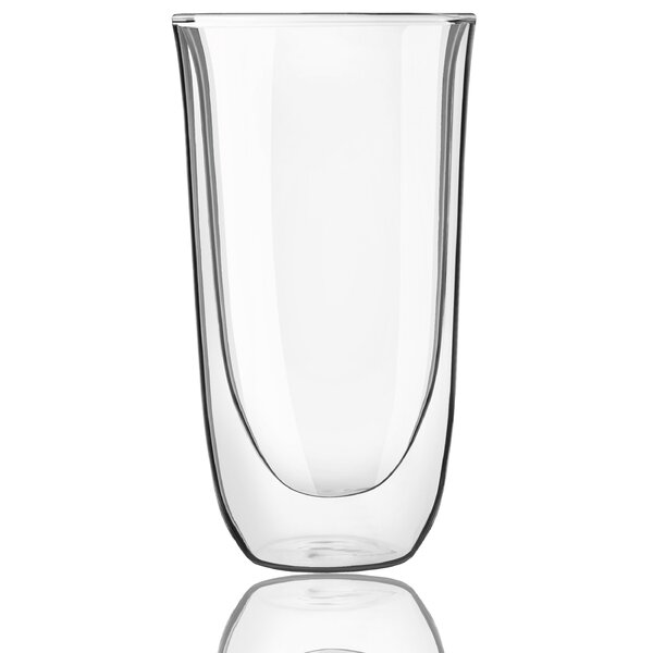 Spike Double Wall Glass 13.5 oz. Every Day Glass (Set of 2) by JoyJolt