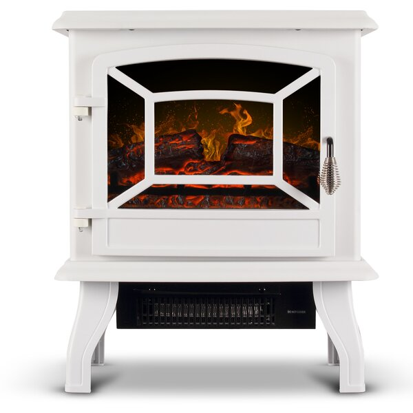 Brookston Compact Freestanding Electric Stove By Winston Porter