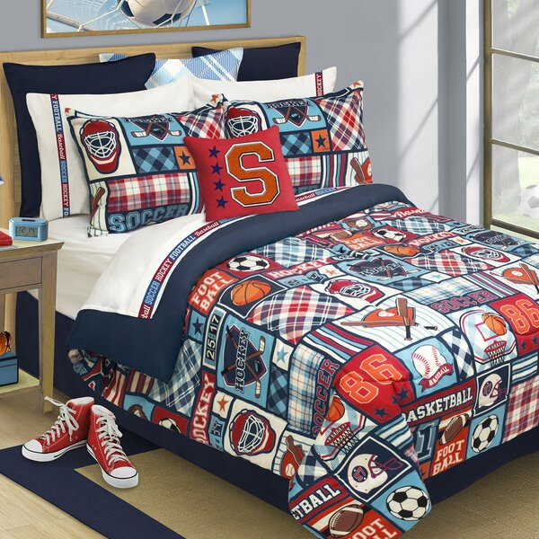 Doyle Reversible Comforter Set by Zoomie Kids