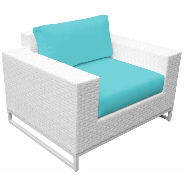 Miami Patio Chair with Cushions by TK Classics