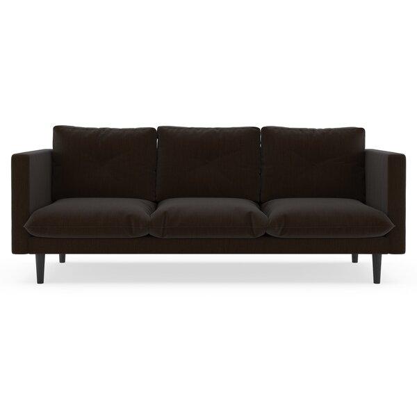 Scheffer Satin Weave Sofa by Orren Ellis
