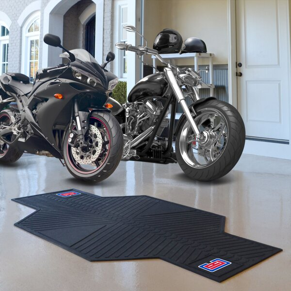 NBA Los Angeles Clippers Motorcycle Garage Flooring Roll in Black by FANMATS