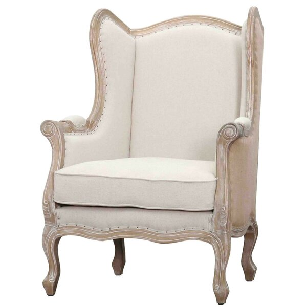 Addington Wingback Chair by One Allium Way