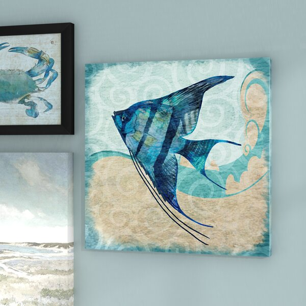 'Fish Angel' Decorative fish Art - Pretty Fish Wall Decor