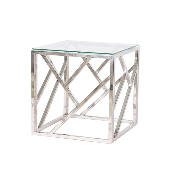 Glick End Table by Orren Ellis Orren Ellis