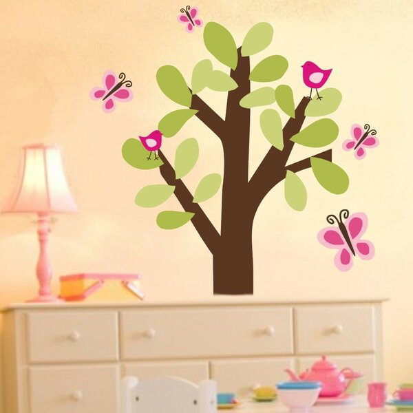 Butterfly Tree Wall Decal by Alphabet Garden Designs