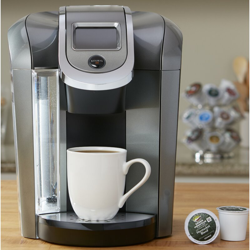 Keurig K575 Single-Serve K-Cup Pod Coffee Maker & Reviews ...