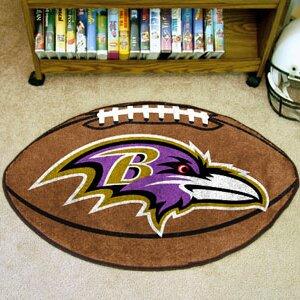 NFL - Baltimore Ravens Football Mat by FANMATS