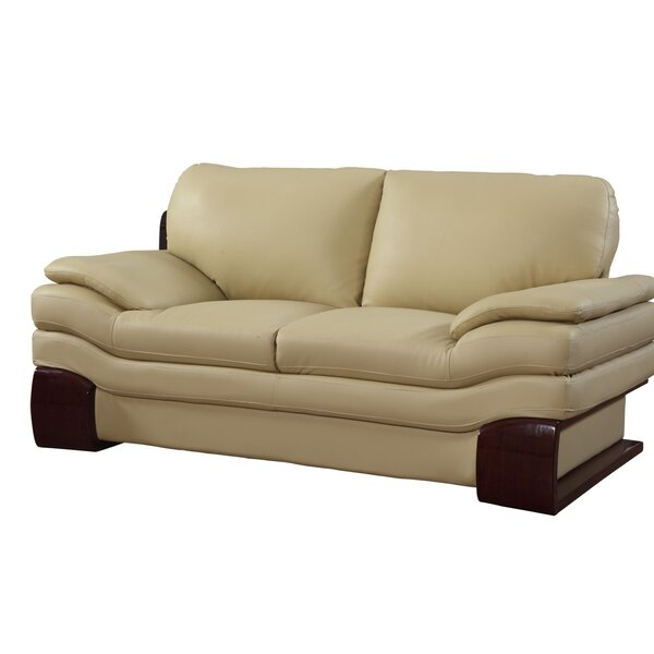 Review Matherly Luxury Upholstered Living Room Loveseat