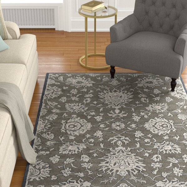 Langport Forest & Light Gray Area Rug by Alcott Hill