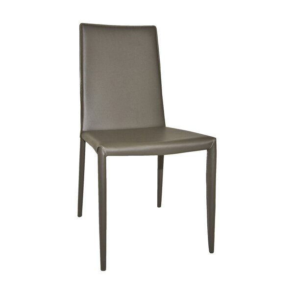 Cyrus Upholstered Upholstered Solid Back Side Chair (Set Of 2) By Wade Logan