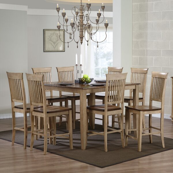 Huerfano Valley 9 Piece Dining Set by Loon Peak