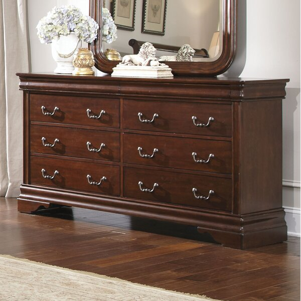 Raina 6 Drawer Double Dresser by Alcott Hill