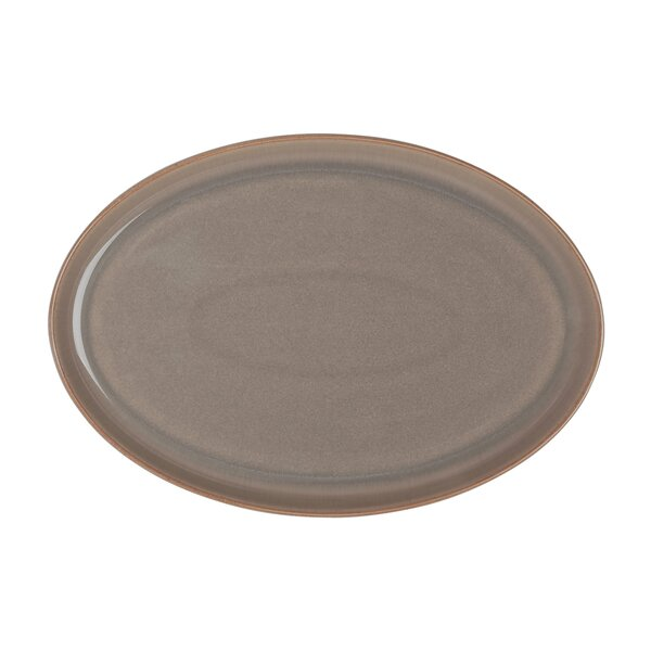 Truffle and Truffle Layers Oval Platter by Denby