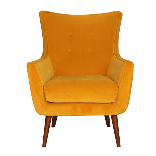 Bolles Wingback Chair by Corrigan Studio