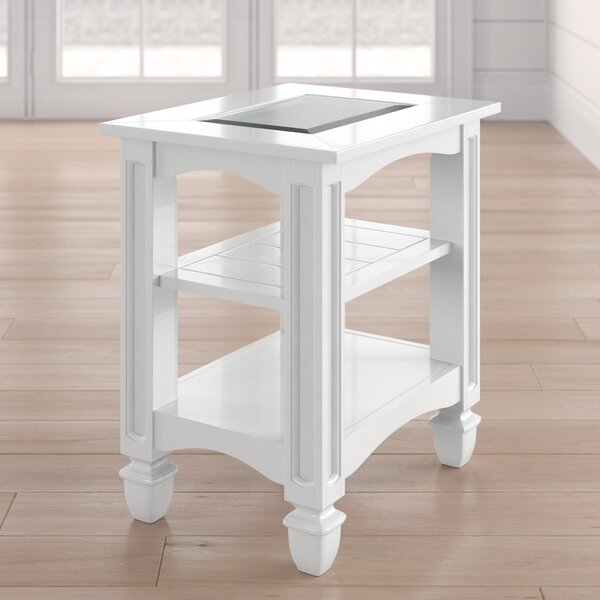 Wilmont Chairside Table by Beachcrest Home