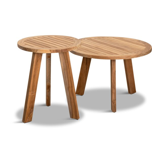 Hoff 2 Piece Nesting Tables By Rosecliff Heights