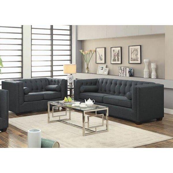 Harkness 2 Piece Living Room Set by Rosdorf Park