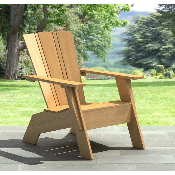 Irick Solid Wood Adirondack Chair by Highland Dunes Highland Dunes