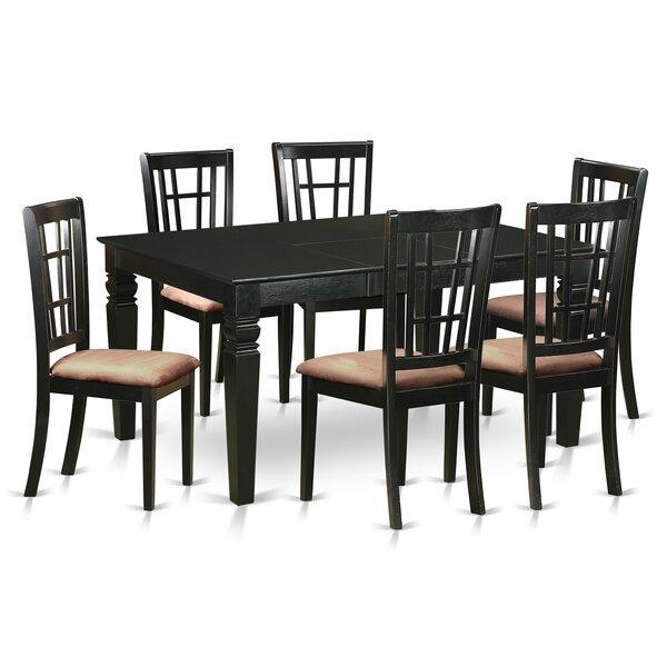 Pennington 7 Piece Extendable Dining Set by Beachcrest Home