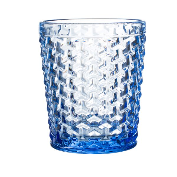 Bistro Weave Glass Cocktail Glass (Set of 4) by Elle Decor