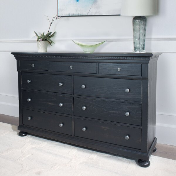 Mulcahy 9 Drawer Double Dresser by Darby Home Co