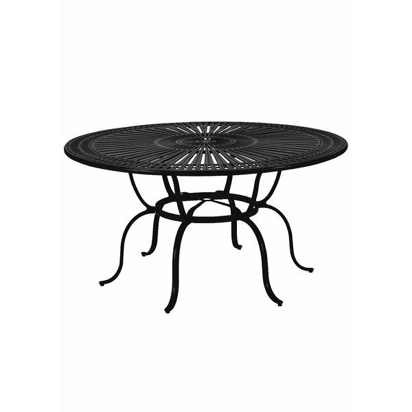 Banchetto Metal Dining Table By Tropitone by Tropitone Great price