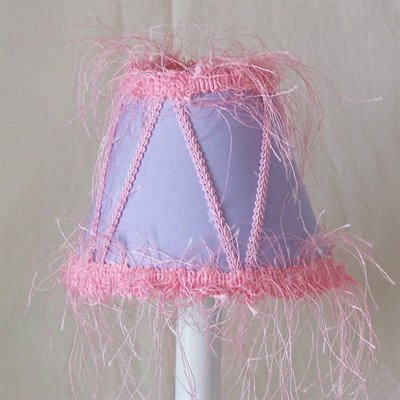 Princess Gwendalyn 11 Fabric Empire Lamp Shade by Silly Bear Lighting