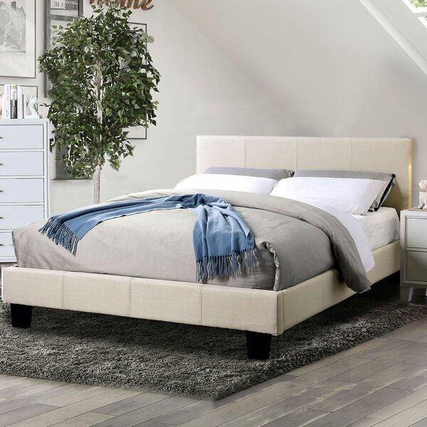 Samburg Upholstered Platform Bed by Ebern Designs Ebern Designs