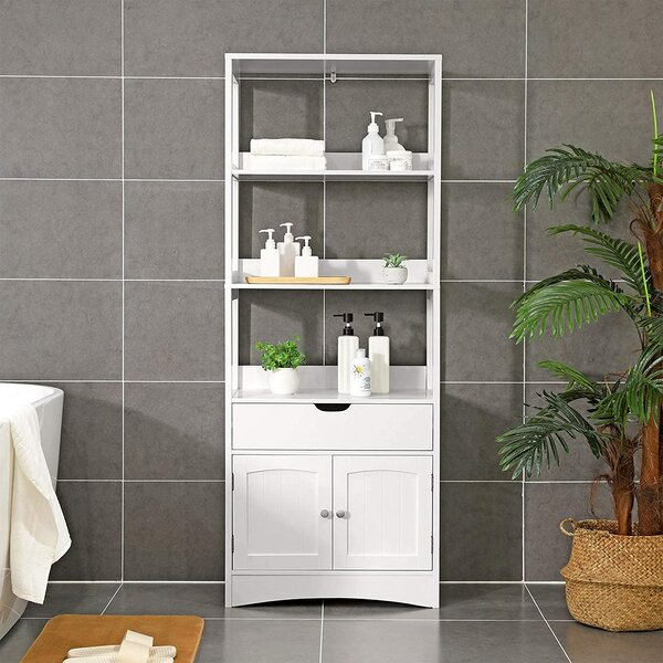 Tall Slim Bathroom Cabinet Wayfair