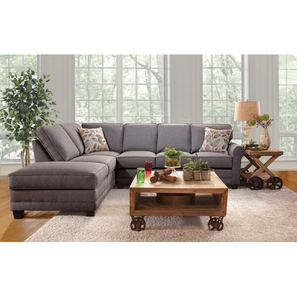 Galena Left Hand Facing Sectional By Charlton Home
