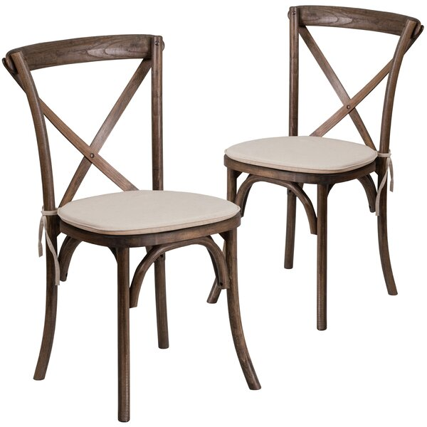 Ivonne Upholstered Dining Chair (Set of 2) by Loon Peak