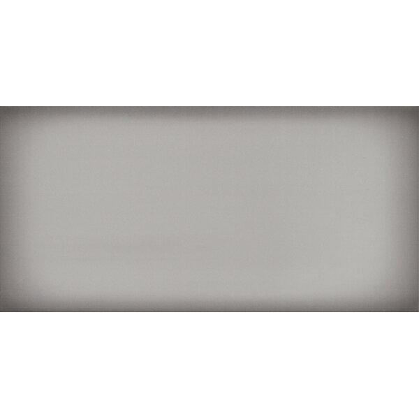 Ombre 6 x 12 Ceramic Subway Tile in Glossy Silver by Emser Tile
