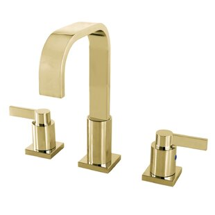 NuvoFusion Widespread Bathroom Faucet with Drain Assembly