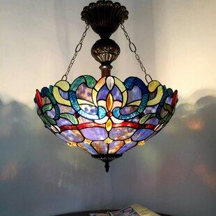 Check Prices Suvi 2-Light Glass Bowl Pendant By Astoria Grand