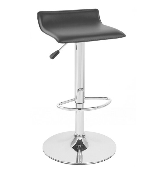 Sigma Adjustable Height Swivel Bar Stool (Set of 2) by Vandue Corporation