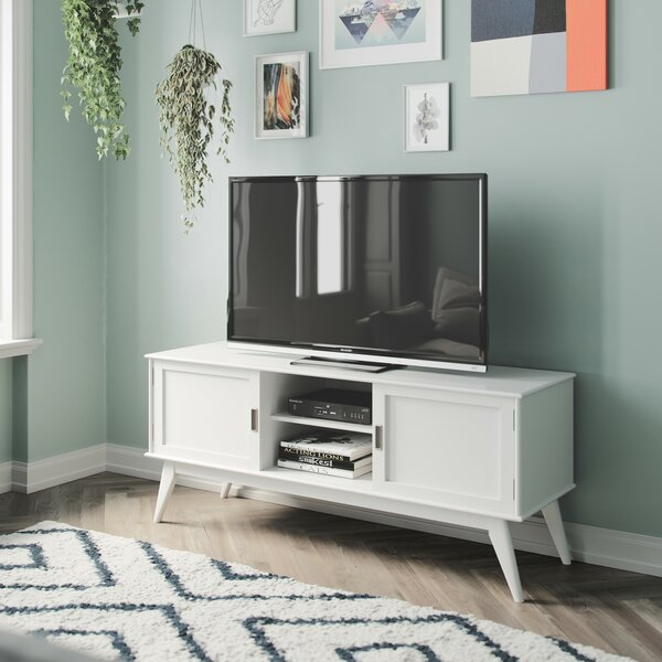 Halvorson Solid Wood TV Stand For TVs Up To 65