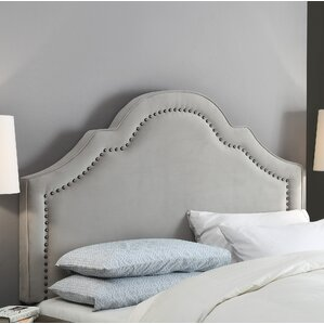 Citadel Full/Queen Upholstered Panel Headboard by Darby Home Co