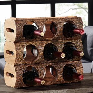 Hood River 3 Bottle Tabletop Wine Rack by Loon Peak