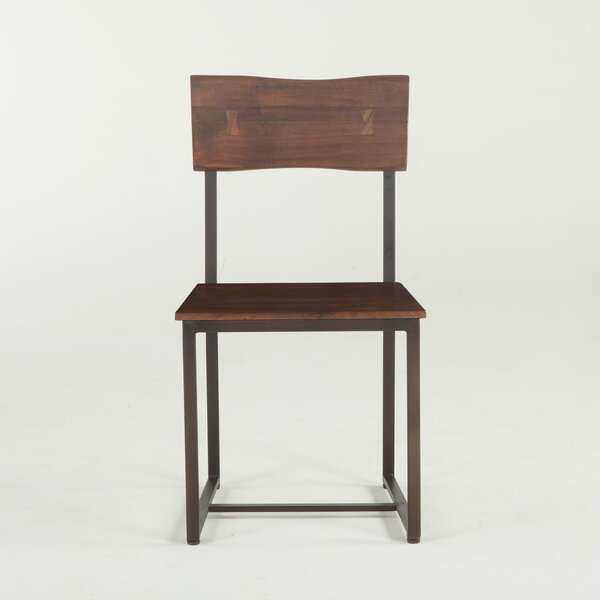Alston Solid Wood Dining Chair (Set of 2) by Union Rustic