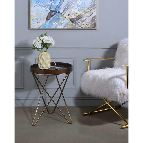 Kestner End Table by Everly Quinn