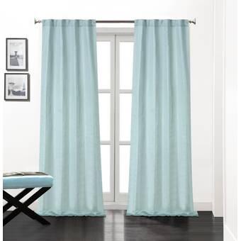 Rosdorf Park Bryce Solid Room Darkening Thermal Rod Pocket Curtain Panels Reviews