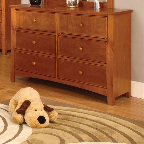Miles 6 Drawer Double Dresser by Hokku Designs