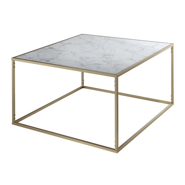 Square Marble Granite Top Coffee Tables You Ll Love In 2020