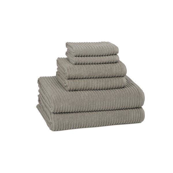 Clarkesville 6 Piece Turkish Cotton Towel Set by Eider & Ivory