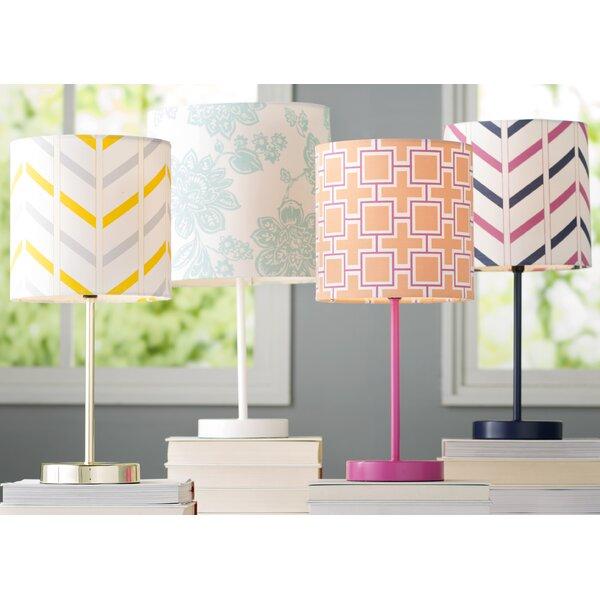 Ida Stripe 8 Cotton Drum Lamp Shade by Zipcode Design