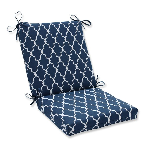 Garden Gate Indoor/Outdoor Dining Chair Cushion by Pillow Perfect