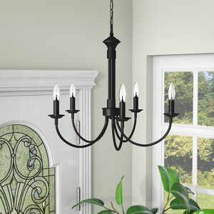 Shaylee 5-Light Candle-Style Chandelier