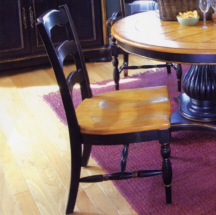 Spindler Square Solid Wood Dining Chair (Set of 2) by Bay Isle Home Bay Isle Home