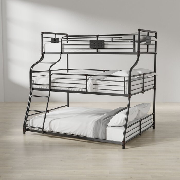 Prather Twin Over Full Queen Bunk Bed